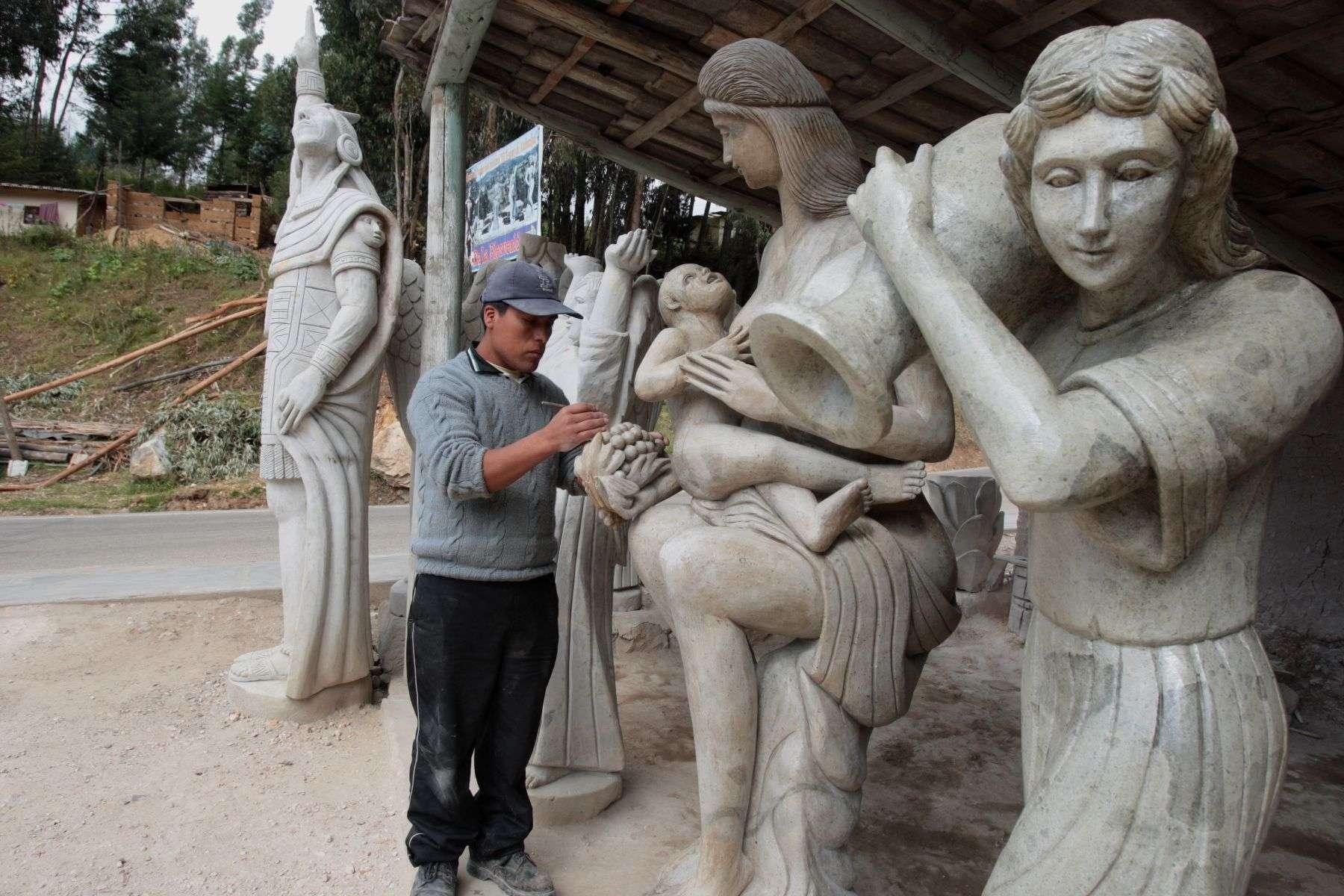 Talleres de piedra, uno de los 15 lugares turísticos de Cajamarca que debes conocer