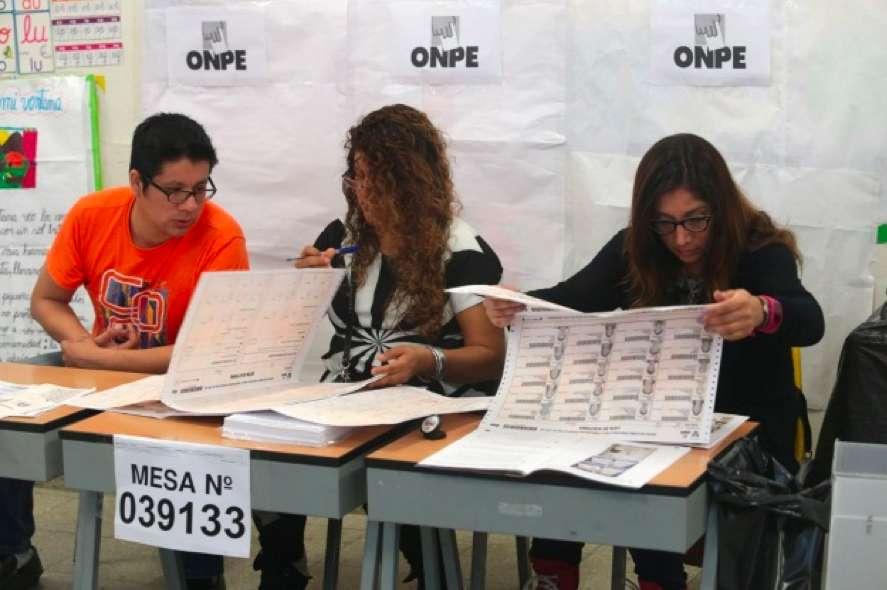 Inician impresión de 48 mil cédulas de sufragio para elecciones complementarias