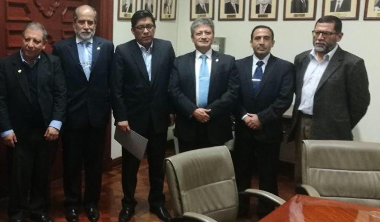 Penal de Huacariz: Alcalde de Cajamarca se reunió con ministro de Justicia