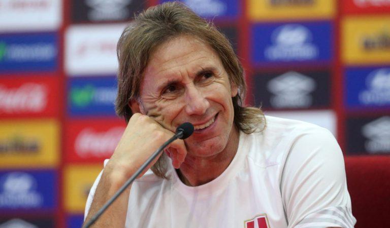 Ricardo Gareca anunciará hoy su continuidad al mando de la Selección Peruana