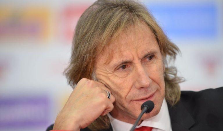 Ricardo Gareca está feliz de haber renovado con Perú