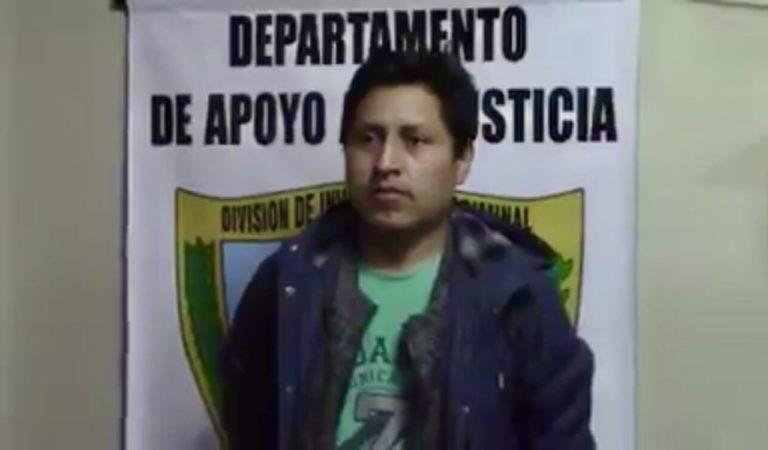"""Capturan al número 52 de """"los más buscados"""" en Cajamarca   VIDEO"""