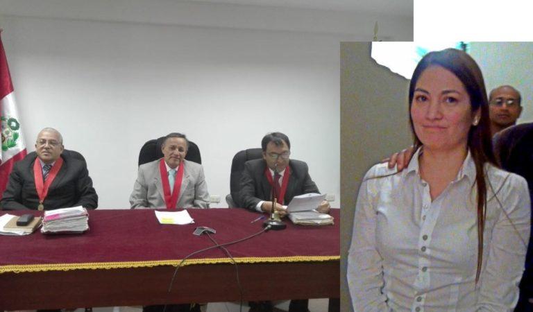 Cuatro años de prisión efectiva para excajera del Banco de la Nación