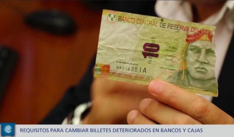 Sepa cómo cambiar billetes rotos en el banco o cajas municipales