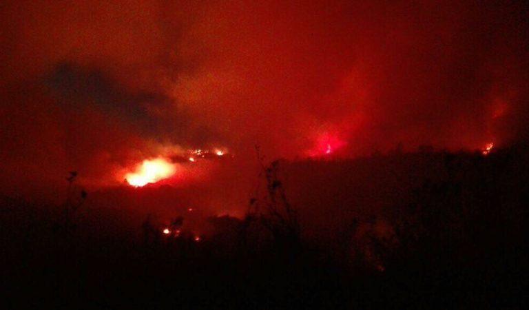 Exhortan a agricultores evitar quemas que provocan incendios forestales
