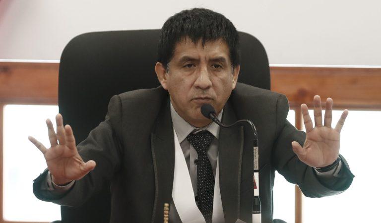 Juez Carhuancho: 'Hay una campaña que pretende caricaturizarme'