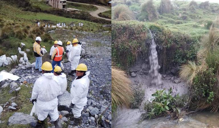 OEFA informa sobre el desborde de relaves mineros en Gold Fields