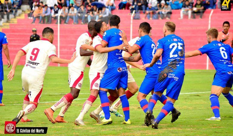 UTC no pudo contra Carlos A. Mannucci en Cajamarca