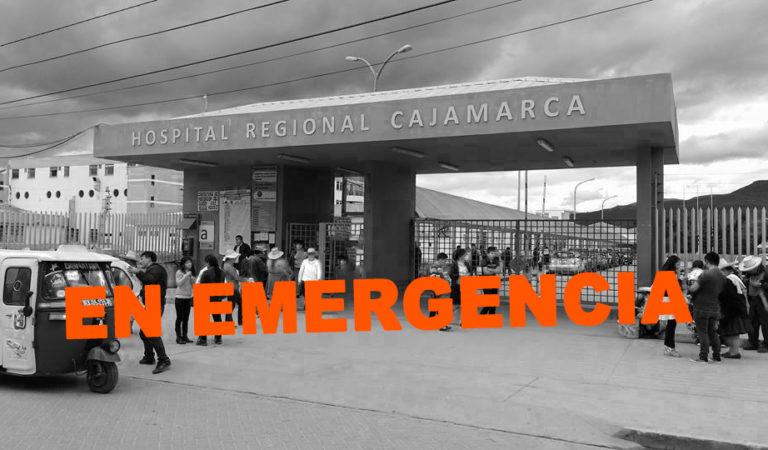 Hospital Regional de Cajamarca en emergencia