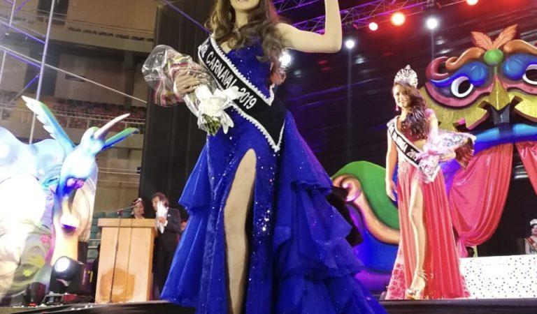 Fernanda Fátima Arrieta fue coronada como Señorita Carnaval 2019