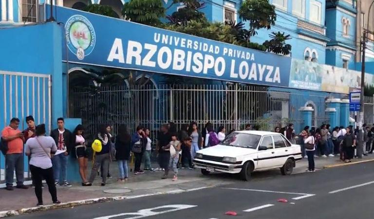 Sunedu niega licenciamiento a Universidad Arzobispo Loayza