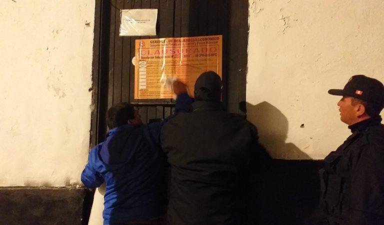 """""""Locales nocturnos del centro histórico no cumplen con normas"""""""