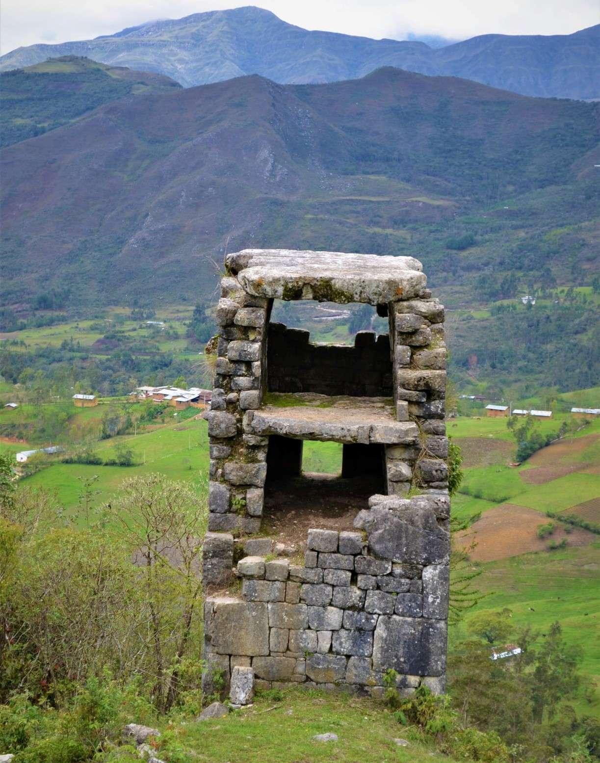Lugares turísticos de Cajamarca: Chullpa de Chetilla.